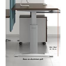 bureau ajustable bureau réglable en hauteur ergonomic master mdd bureaux réglables