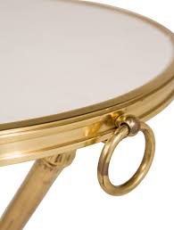 ralph lauren metal mirrors made by henredon ralph lauren marble and brass rue royale side table furniture