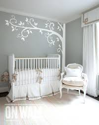 White Tree Wall Decal Nursery Etsy Nursery Wall Decals White Tree Wall Decal Nursery Wall