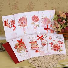 Designs Of Greeting Cards Handmade Aliexpress Com Buy Sweet Handmade Card For Friend Birthday
