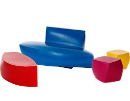 Frank Gehry Outdoor Furniture by Frank Gehry 4 Piece Collection Hivemodern Com