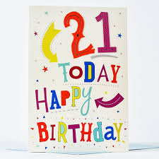 giant 21st birthday card 21 today only 99p
