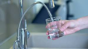healthy fresh water from the kitchen faucet
