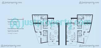 bay central west tower floor plans justproperty com