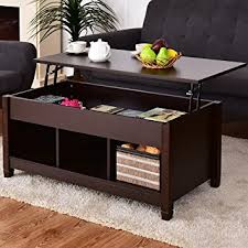 modern livingroom furniture amazon com tangkula lift top coffee table modern living room