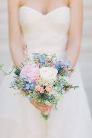 blue wedding bouquets 16 charming and trendy serenity wedding bouquets weddingomania