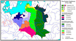 russia map before partition whkmla historical atlas of poland