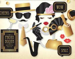 Digital Photo Booth 50s Party Printables Photo Booth Props With Digital Mustache