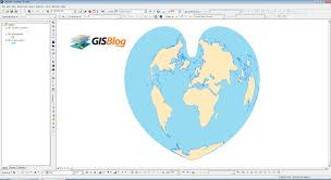 What Is A Map Projection Heart Shaped Map Projections Gisblog Com