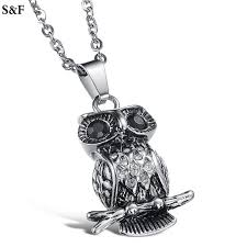steampunk owl necklace images Classic steampunk owl necklaces pendant personality vintage jpg