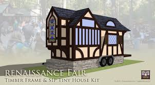 Sips Cabin Tiny House For Renaissance Fair U0026 Medieval Festivals Timber
