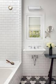 bathroom subway tile backsplash of classic