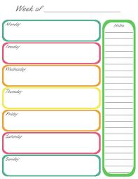 printable weekly calendar for 2018 weekly calendar 2018 templates word pdf excel get printable