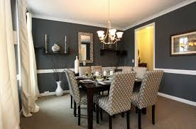 red dining room colors paint with chair rail wall for marvelous