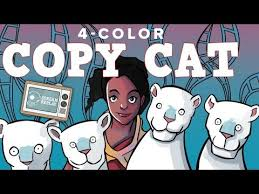 Copy Cat Meme - four color copy cat in modernl cat meme tube