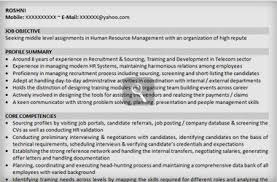 hr executive resume sample hr executive resume sample inspiration