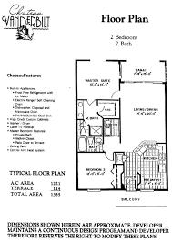 Chateau Floor Plans by Chateau Vanderbilt Naples Fl Vanderbilt Beach Condos