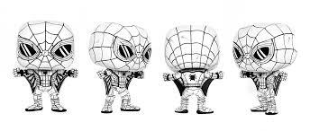 tonight u0027s custom sketch mcc spiderman funkopop