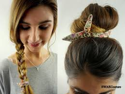 headband wrap bun wire wraps choose any two wired flex headband ponytail