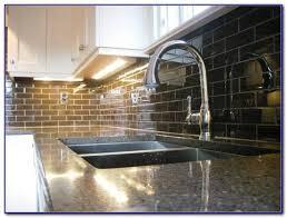 Green Subway Tile Kitchen Backsplash - green glass subway tile kitchen backsplash tiles home design