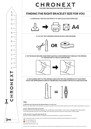 bracelet size images A guide to finding the right size for your watch bracelet chronext pdf