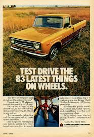 Vintage Ford Truck Advertisements - 1969 international pickup advertisement photo picture