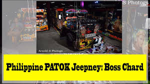 jeepney philippines for sale brand new philippine patok jeepney boss chard youtube
