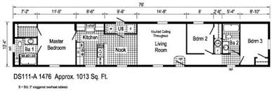 4 Bedroom Single Wide Floor Plans Single Wide Home In Pa For Sale At Ridgecrest Home Sale