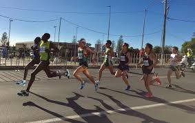 cassidy bentley marathon noguchi downs mungara and kawauchi for gold coast win bekele