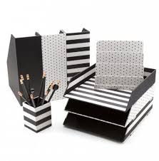 Black And White Desk Accessories Excellent Best 25 Desk Accessories Ideas On Pinterest Gold Within