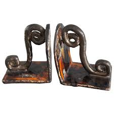 unique bookends for sale vintage design studio pottery glazed ceramic bookends unique pair