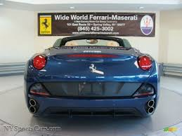 Ferrari California Light Blue - 2012 ferrari california in blu tour de france blue metallic