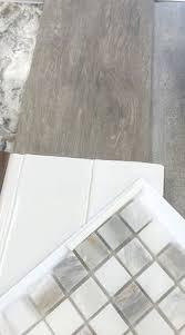 Bathroom Tile Floors Love Wood Tile In A Herringbone Pattern Such A Great Look And So