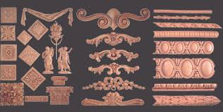fancy furniture appliques and onlays and composition ornaments