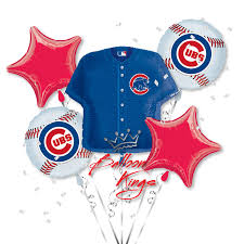balloon arrangements chicago chicago cubs bouquet balloon