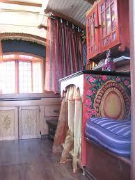 Vardo Interior Gypsy Caravan Interior 2 Hi Visit Us The Bohemian Yogini Shop