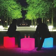 led cubes cube led seating cube moree ambientedirect