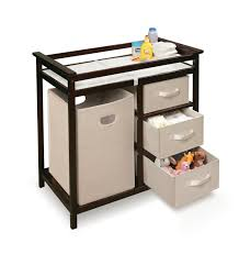 Simple Changing Table Simple Small Baby Changing Table With Wooden Frame And Drawer Can