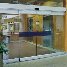 automatic frameless sliding glass doors canuck door systems