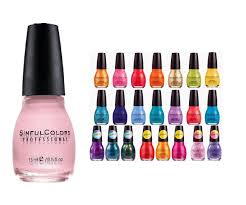 amazon com sinful colors 10 piece surprise nail polish set beauty