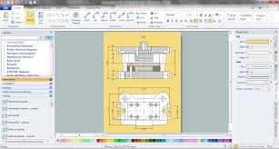 how to create a mechanical diagram mechanical drawing symbols