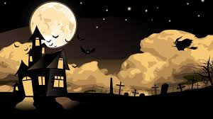 minecraft halloween wallpaper download wallpaper 3840x2160 house witch flying halloween sky