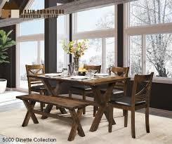 6 pc dinette kitchen dining room set table w 4 wood chair 5000 6 pc dinette with bench mattress furniture mattresses