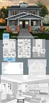 Floor Plan With Elevation by Best 25 Bungalow Floor Plans Ideas Only On Pinterest Bungalow