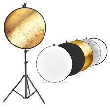 studio lighting equipment for portrait photography neewer photo studio lighting reflector and stand kit 43 inches 110