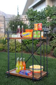 summer party ideas outdoor movie night party pink peppermint