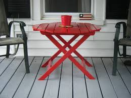 Patio Furniture Using Pallets by Ana White Adirondack Side Table Using Recycled Pallet Wood