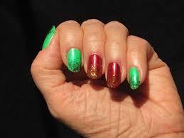 Christmas Light Nails by My Christmas Fingernails Sunflower Swank