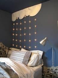 éclairage chambre bébé decoration idée éclairage chambre enfant guirlandes étoiles