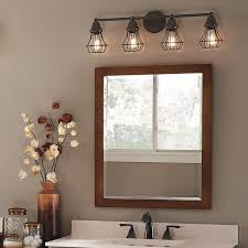 bathroom fixture light bring an element of industrial cool into your bathroom with a